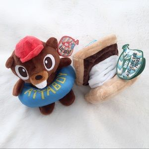 NWT  Summer Camp Theme Lot of Dog Toys